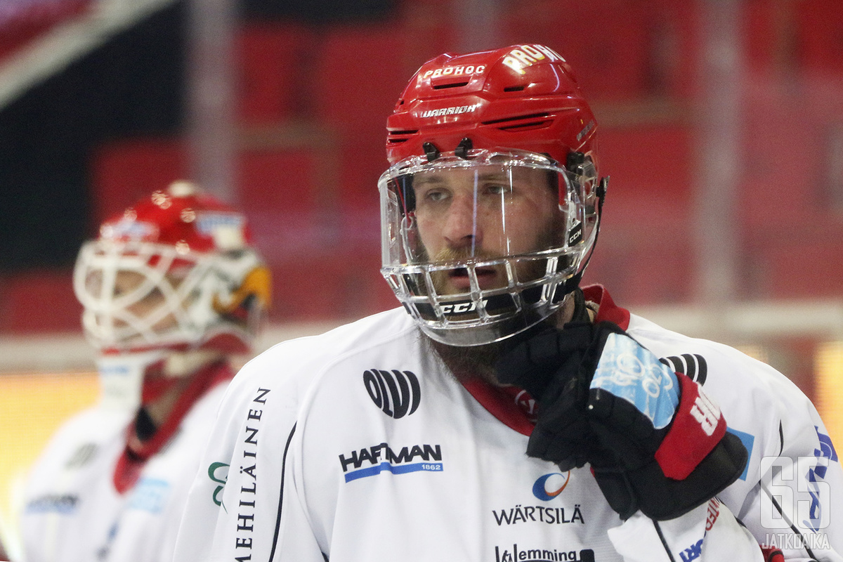 Jonne Virtanen on pelannut Liigassa hyvää kautta.