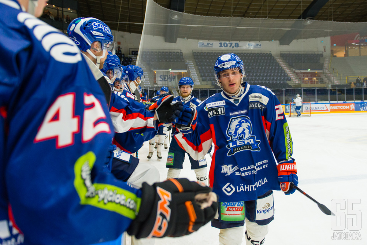 Viime kohtaaminen Lempäälässä päättyi kotijoukkue LeKin 7-1-voittoon.
