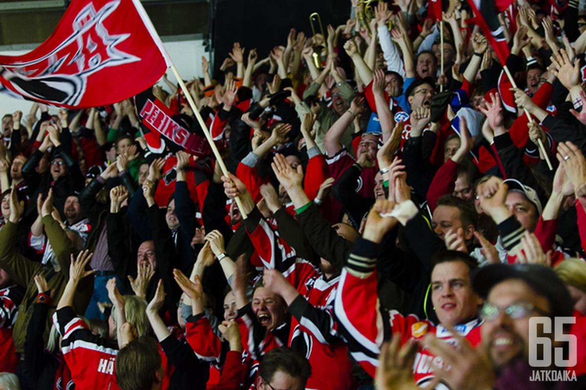 Porilaiset saavat juhlia pitkän tauon jälkeen Suomen mestaruutta.
