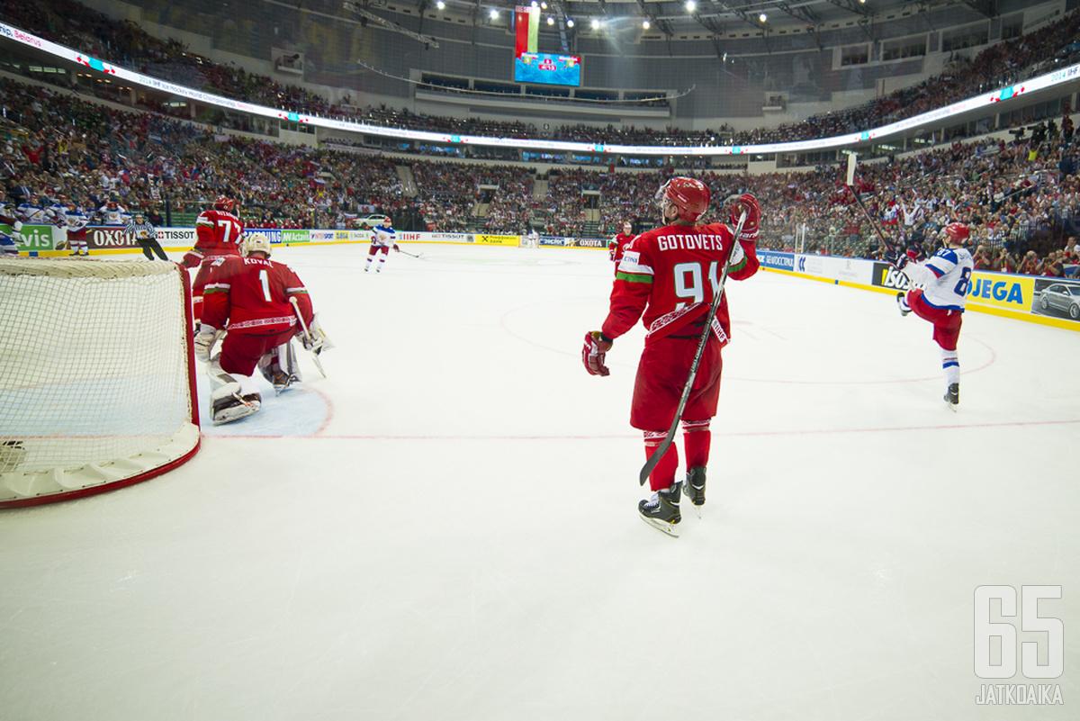 Viime vuonna kisat pelatiin Valko-Venäjällä.