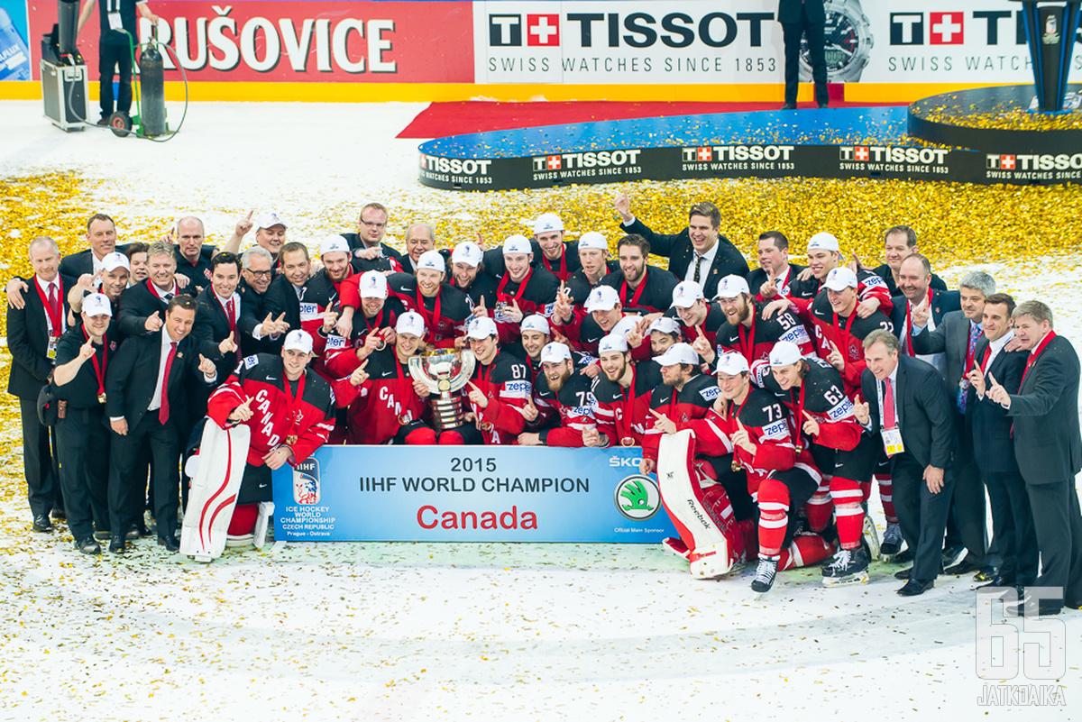 Kanada teki Venäjästä selvää jälkeä MM-finaalissa.