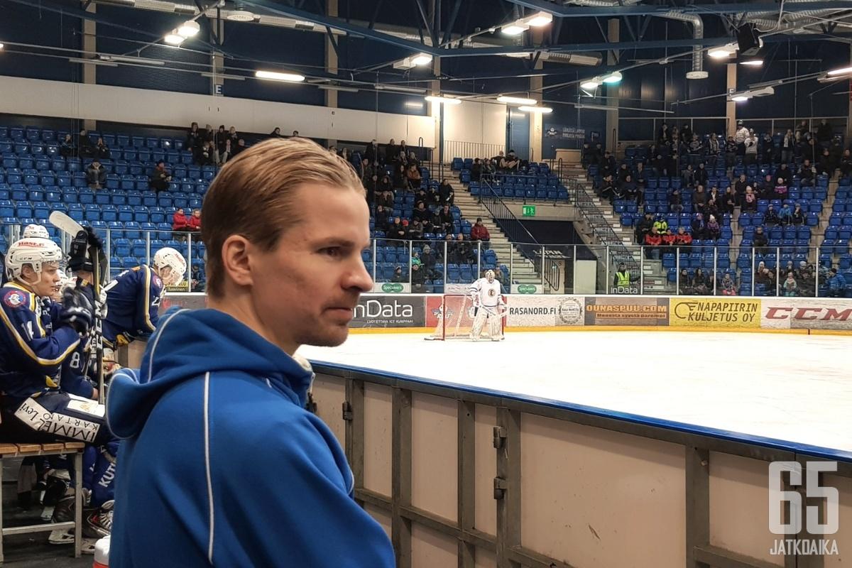 Pekka Kankaanranta katsoo positiivisesti tulevaan.