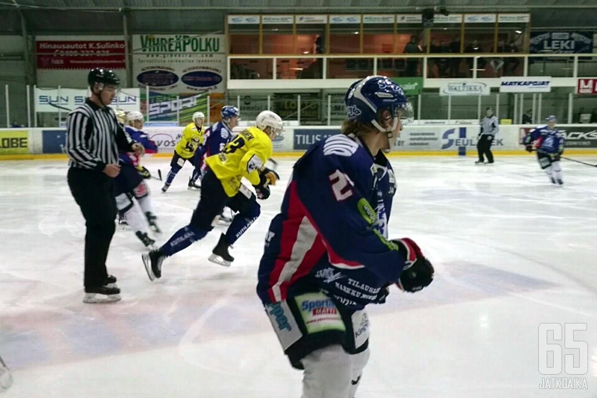 LeKin Anton Levtchi jäi ilman tehoja RoKia vastaan.