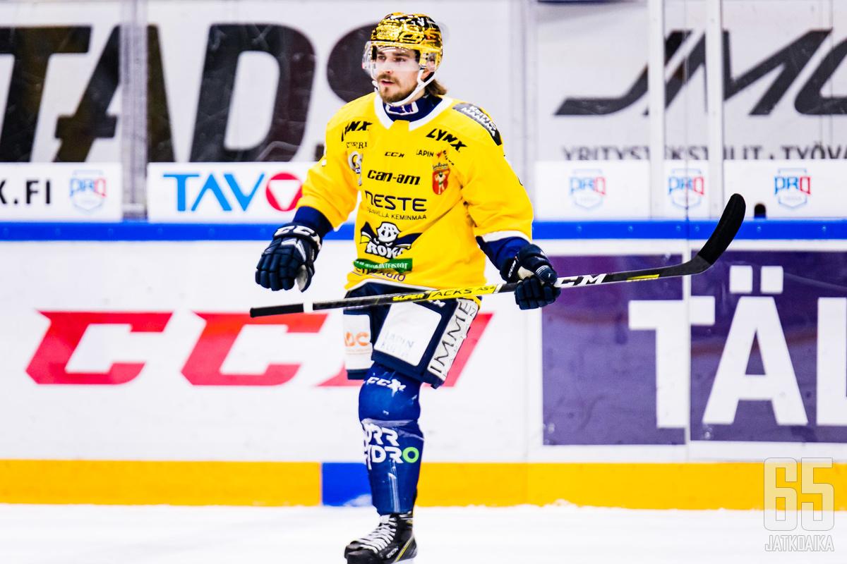 Olli-Matti Järvelä on kuulunut RoKin tehokkaimpiin hyökkääjiin Mestiksessä.