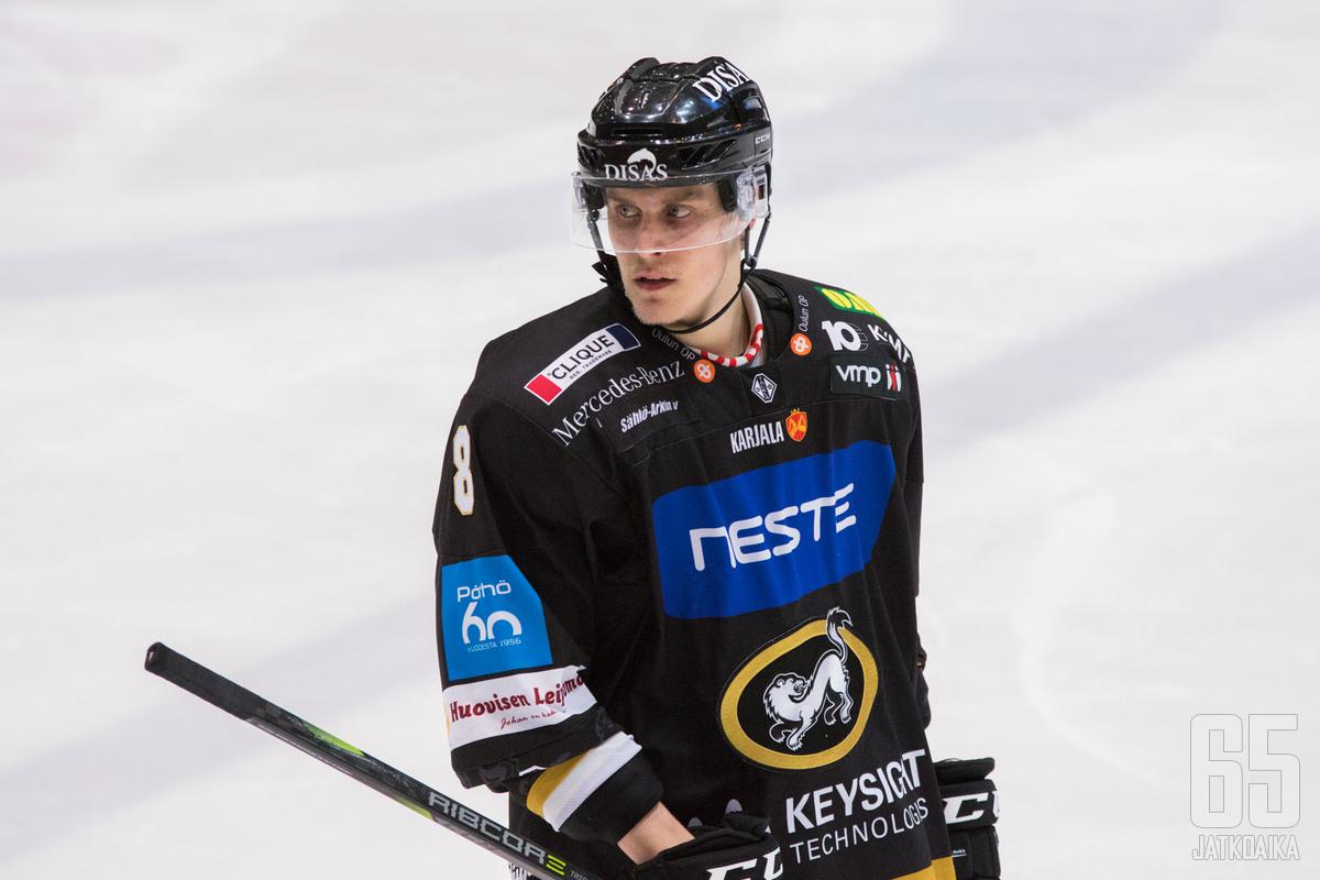 Mäenalanen palaa Ouluun kolmen kauden tauon jälkeen.