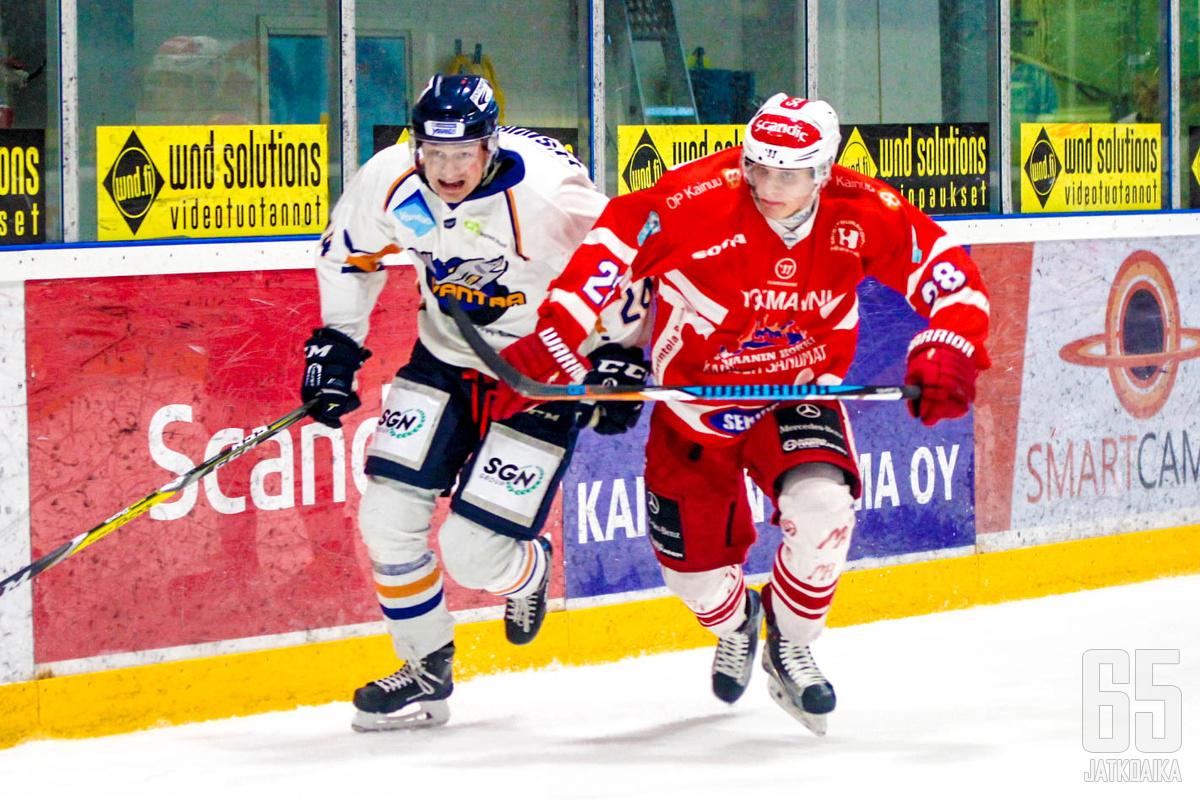 Hokin Timo Hiltunen (28) siirtyy Jokipoikiin.