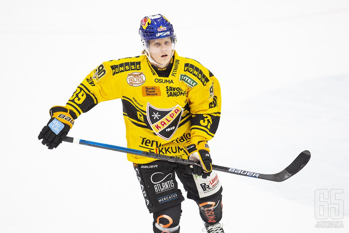 Kim Nousiainen on noussut KalPan kärkipuolustajaksi.