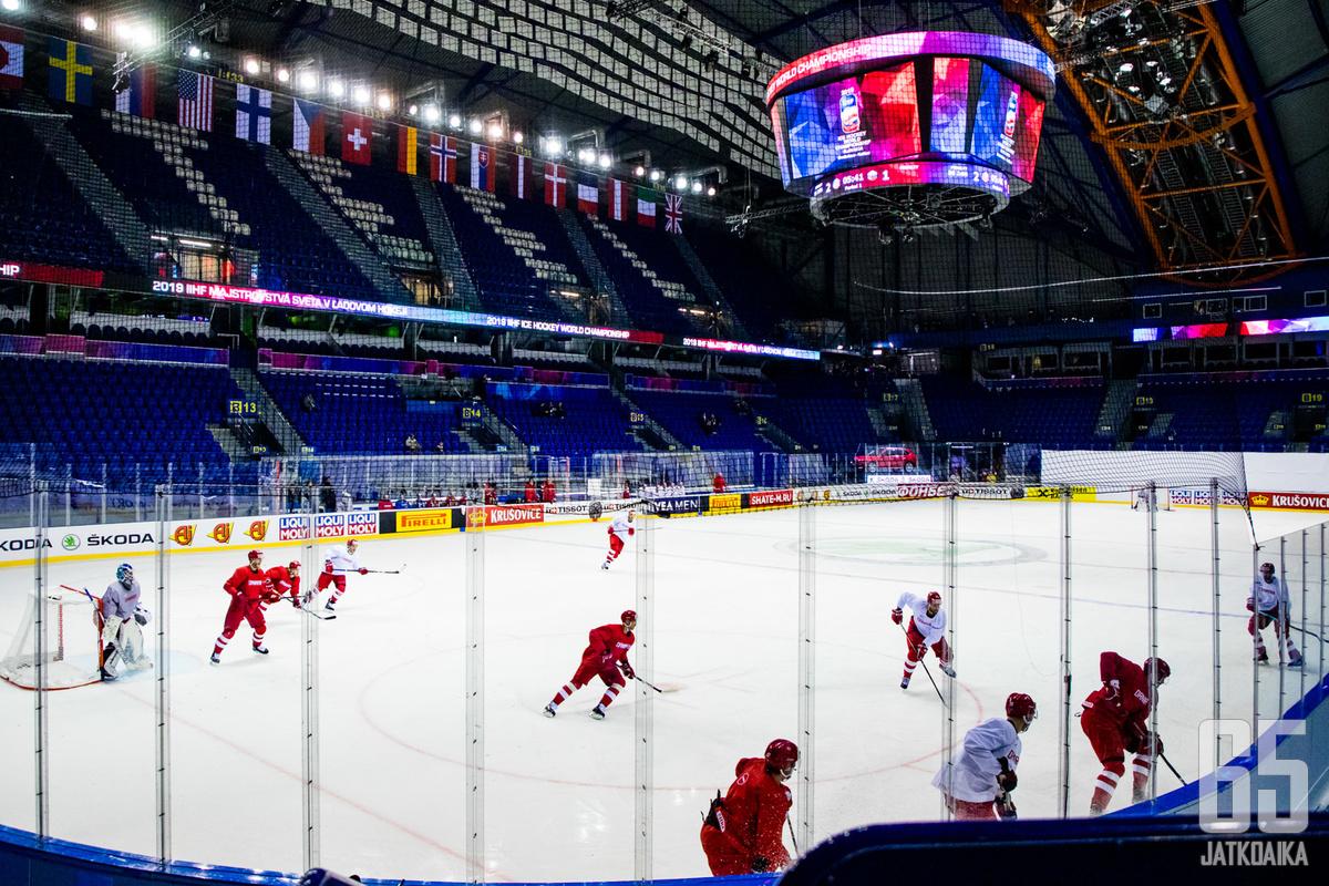 Suomi pelaa alkulohkonsa Košicessa.