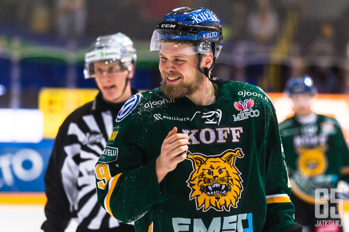 Ilves tarvitsee Antti Tyrväisen asennetta.