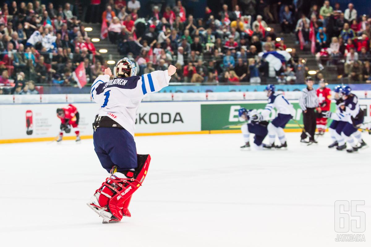 Veini Vehviläinen juhli Suomen finaalipaikkaa alle 18-vuotiaiden MM-kisoissa.