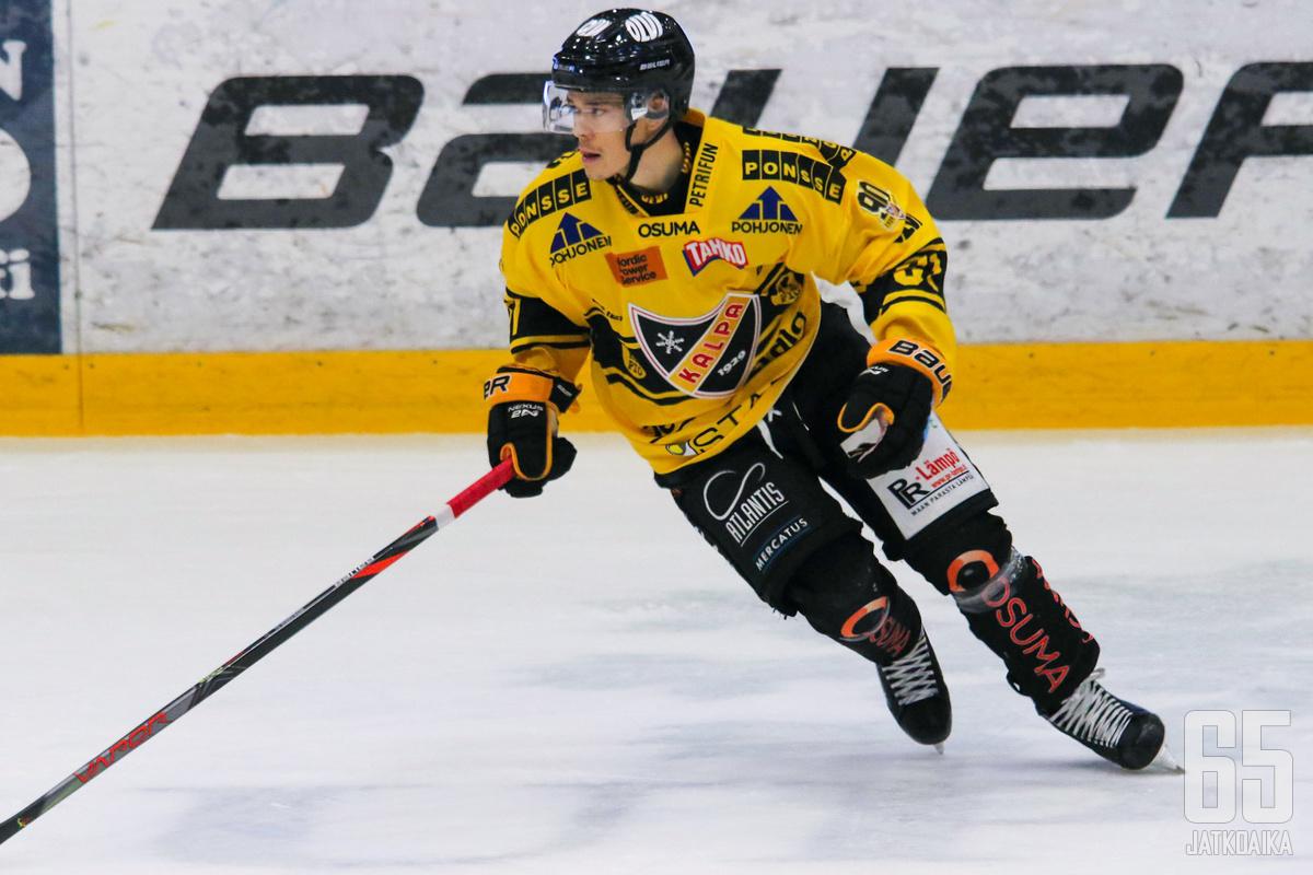 Miikka Pitkänen teki voittolaukauskilpailun ainoan osuman.