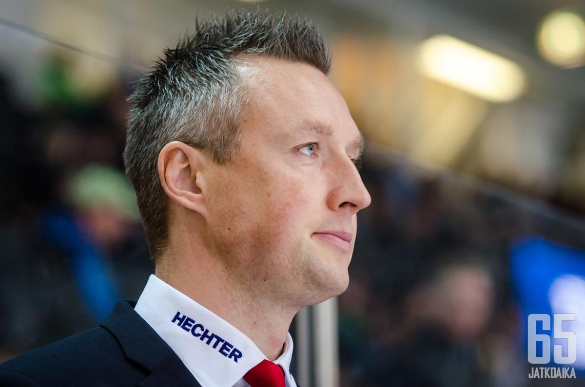 Jan Lundell hyppää yllättäen HIFK:n varamaalivahdin rooliin.