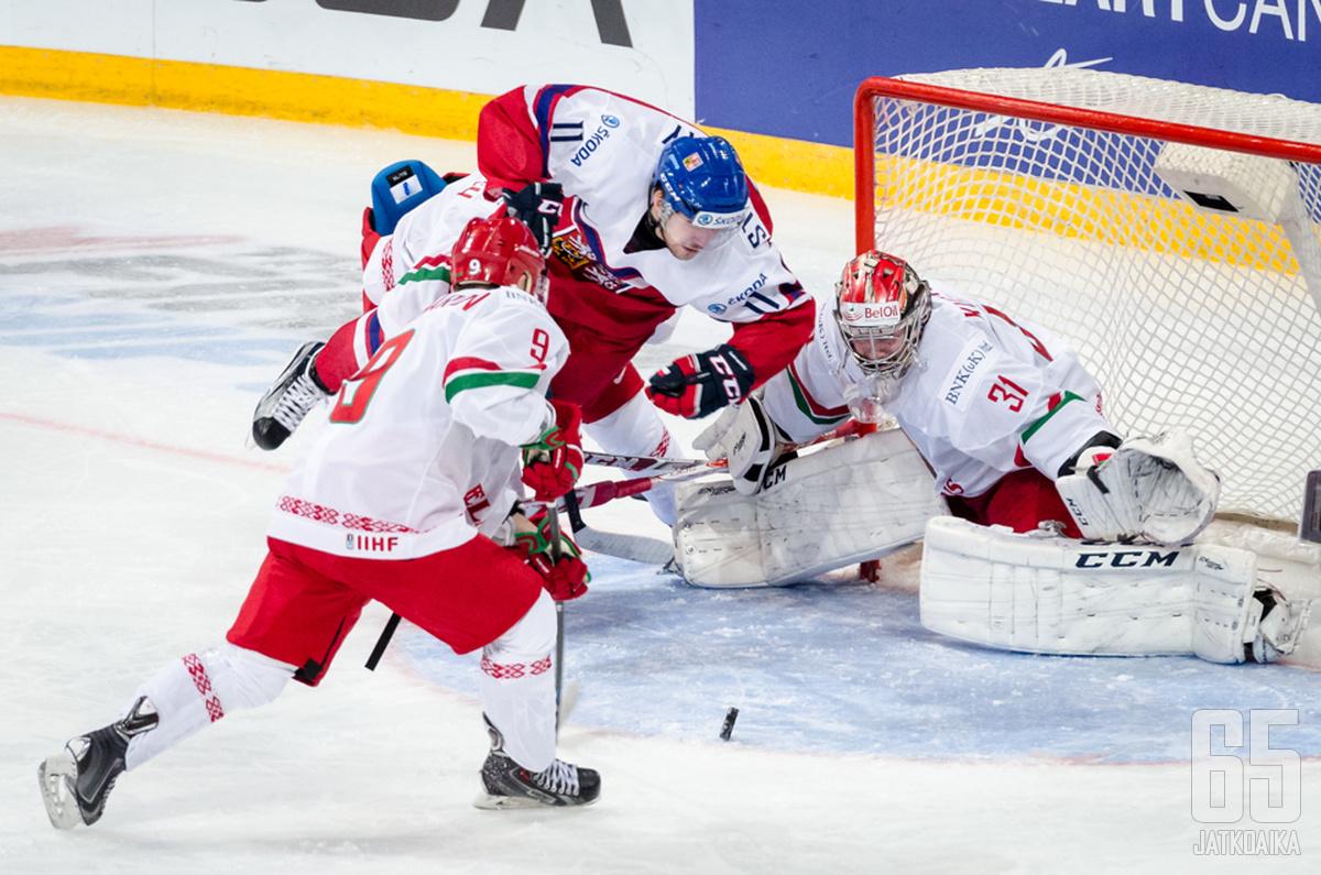 Stransky edusti maataan muun muassa Helsingissä alle 20-vuotiaiden MM-kisoissa keväällä 2016.