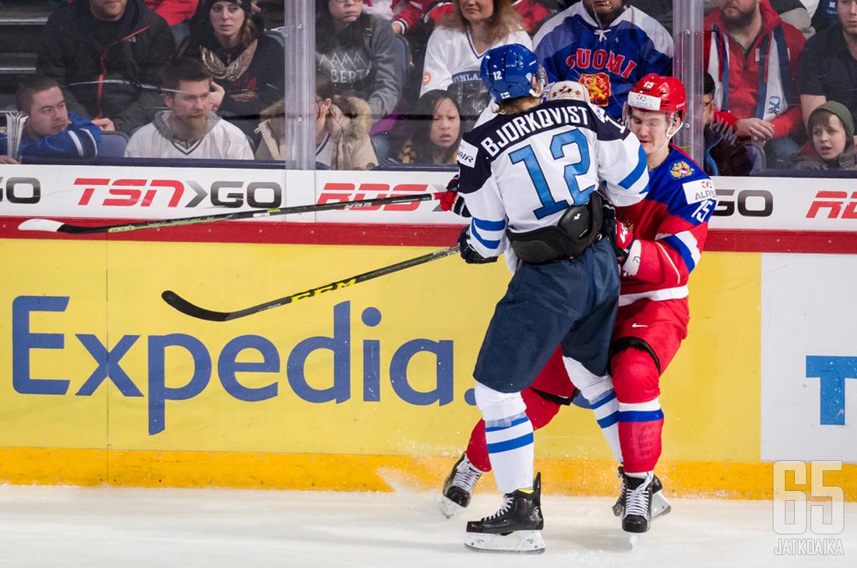 Kasper Björkqvistin otteet ihastuttivat nuorten MM-kisoissa.