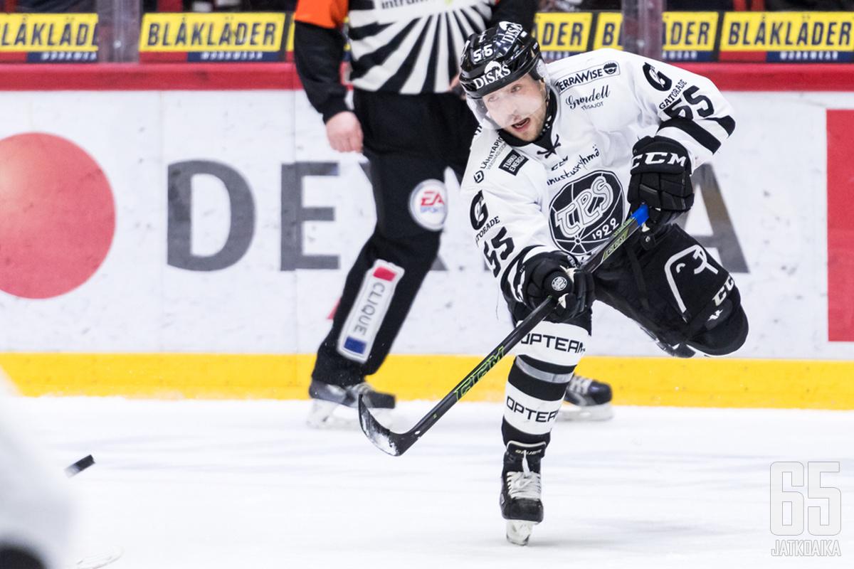 Harri Tikkasen viimeinen seura Liigassa oli TPS.