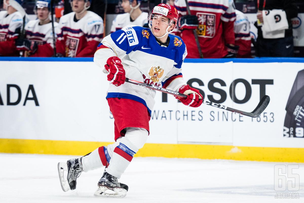 Abramovilla on kokemusta Venäjän nuorisomaajoukkueista.