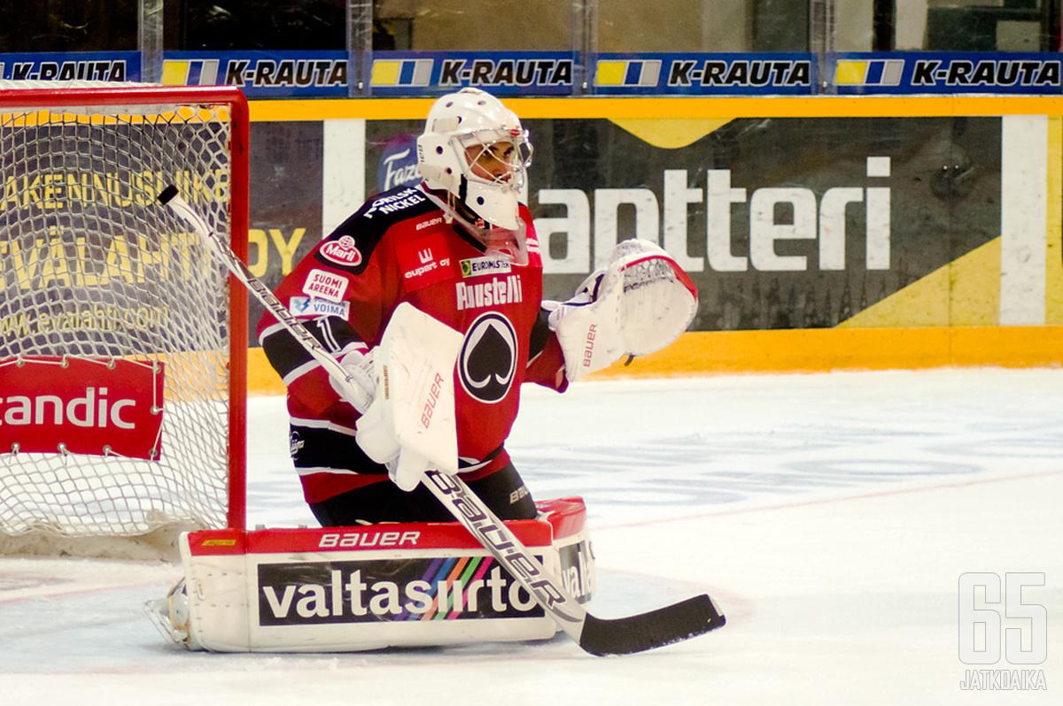 Andreas Bernard torjui kauden toisen nollapelinsä.