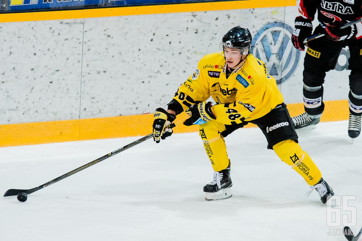 Jääskeläinen kiekkoilee loppukauden Suomi-sarjassa.