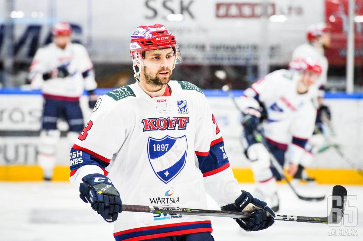 Jerry Ahtola matkaa seuraaavaksi Tampereelle.