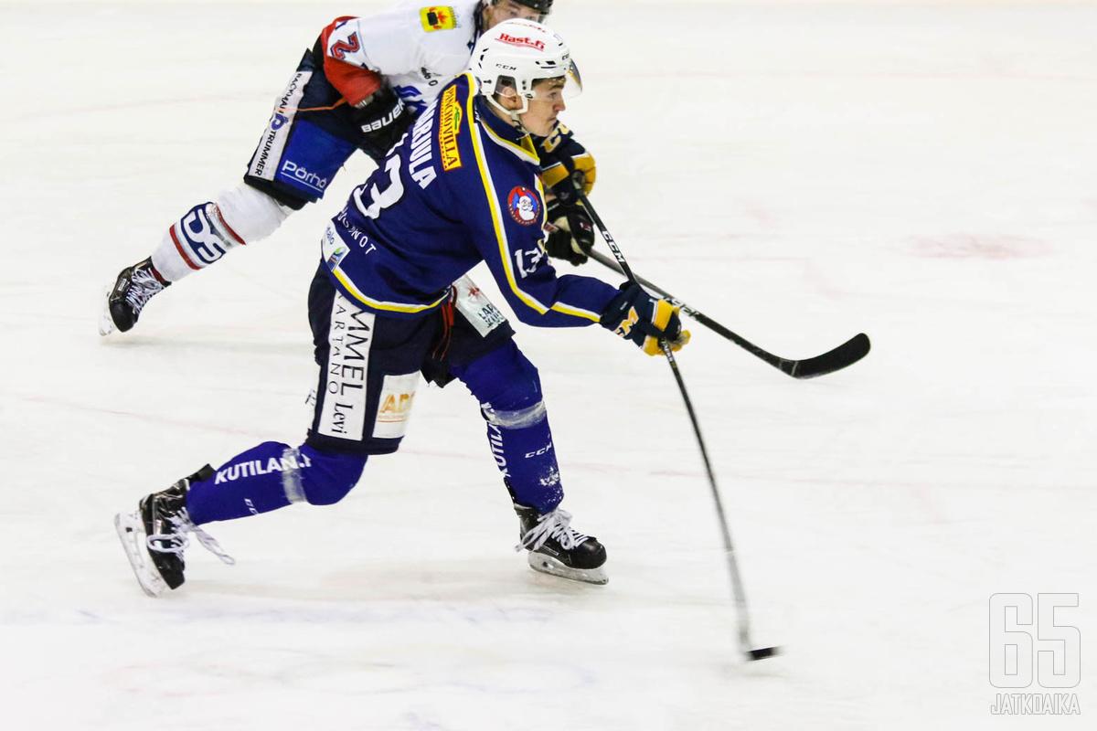 Harjula hakee paikkaa Kiekko-Vantaasta.