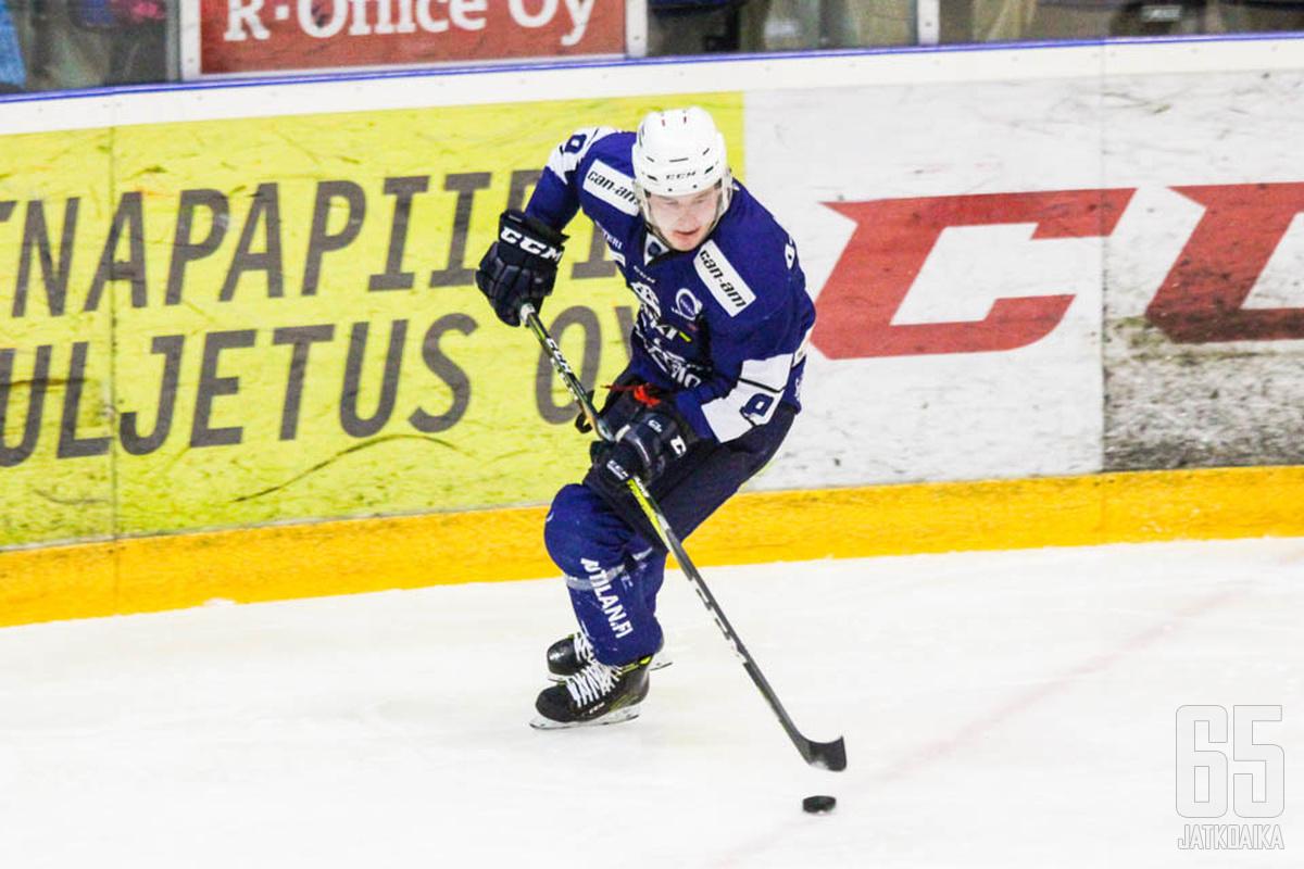 Olli-Aleksi Pietilälle alkava kausi on kolmas Rovaniemellä.