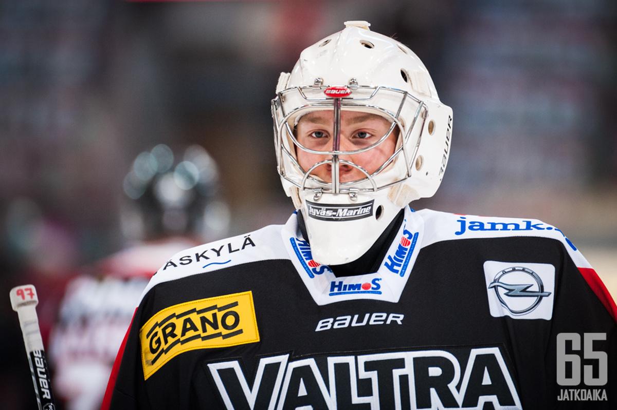 Markus Ruusu pelasi ensimmäisen kautensa miesten tasolla.