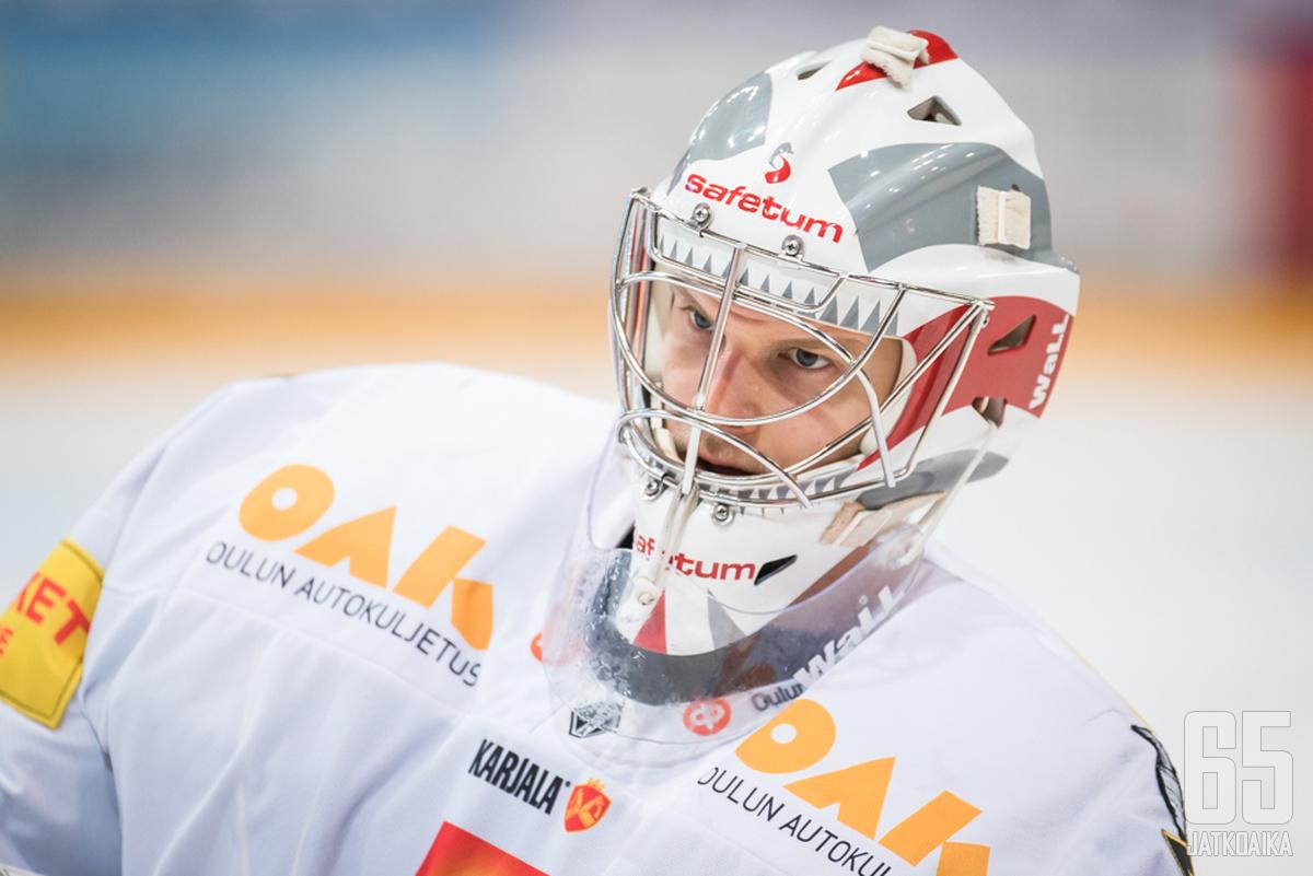Sami Aittokallio torjuu jatkossa Sparta Prahan paidassa.