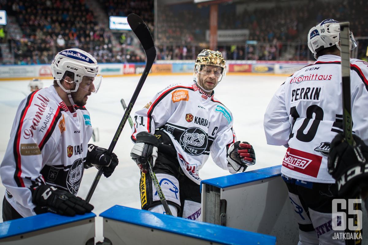 Tomi Kallio oli jälleen joukkueensa rakentava voima.