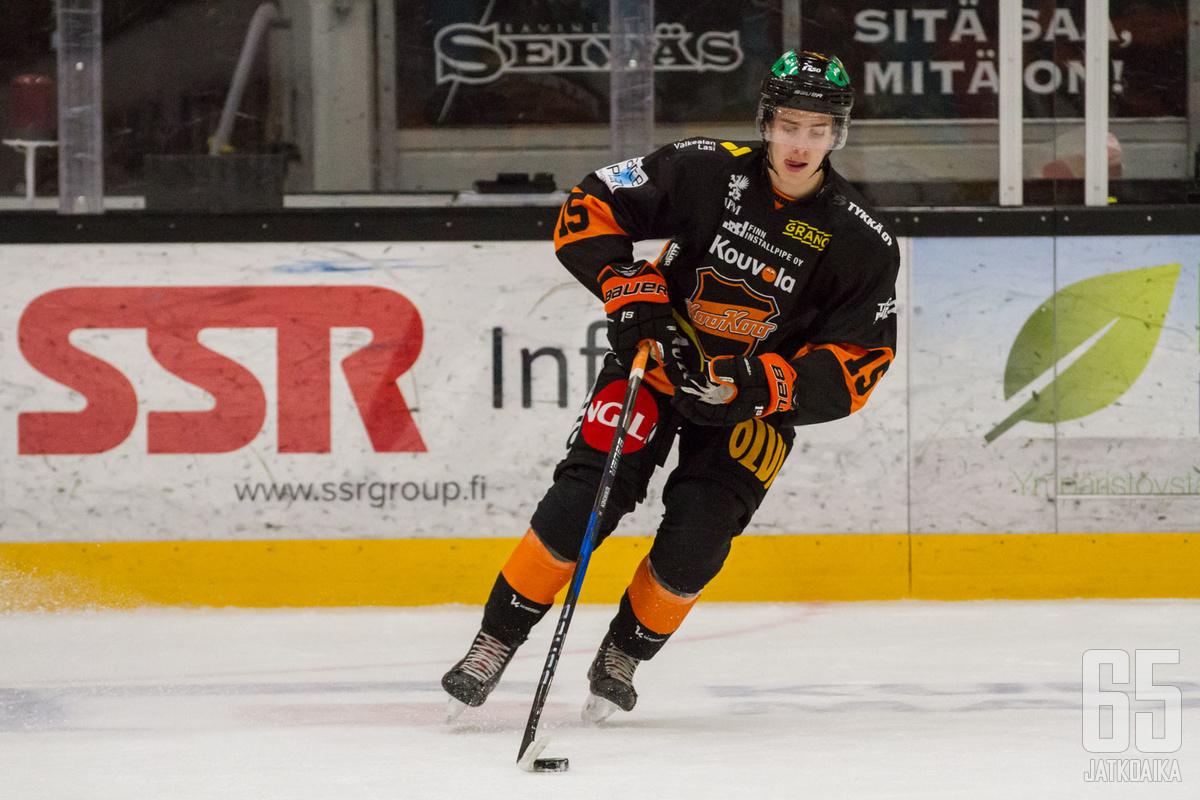 Korhonen on tähänastisen uransa pelannut KooKoossa.
