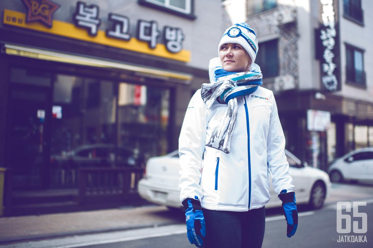 Venla Hovi on Etelä-Koreassa jo uransa kolmansissa olympialaisissa.
