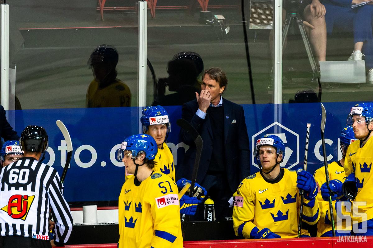 Ruotsin turnaus päättyi mahalaskuun.