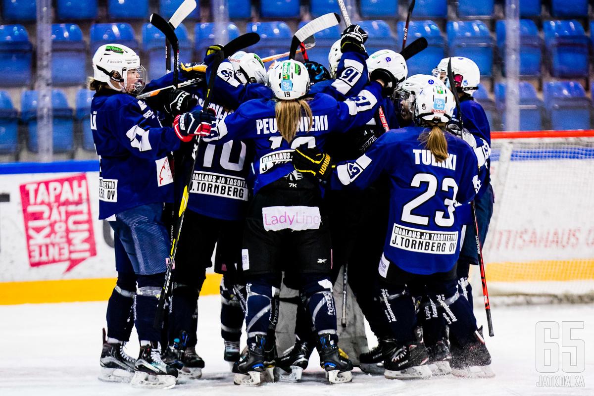 Naisten Liigaa nähdään syksyllä Rovaniemellä.