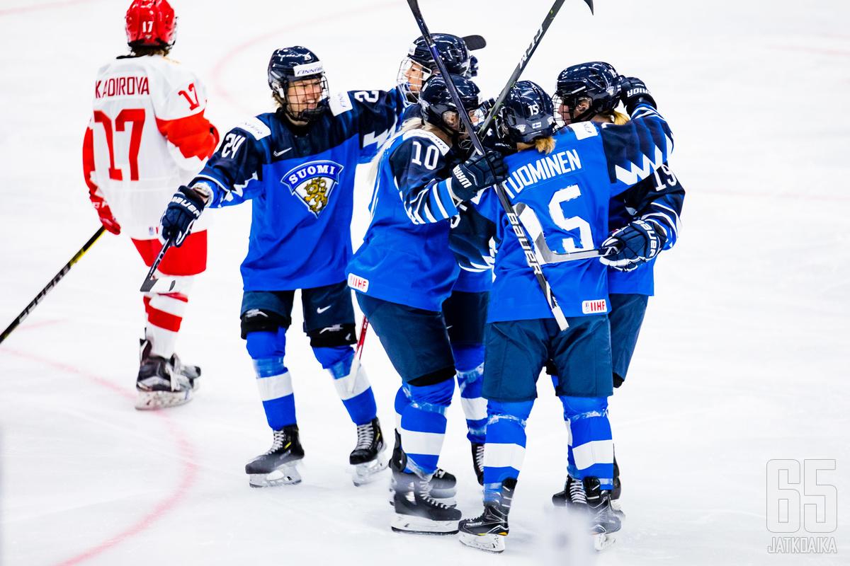 Suomi onnistui päätöserässä ratkaisemaan ottelun edukseen