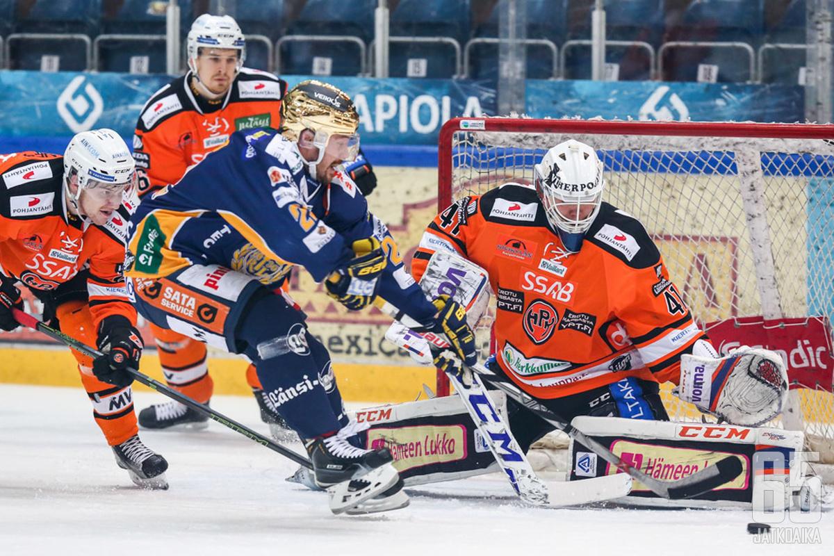 Laurikainen palaa Liigaan, muttei HPK:hon, jossa pelasi lainapestillä kaudella 2015-16.