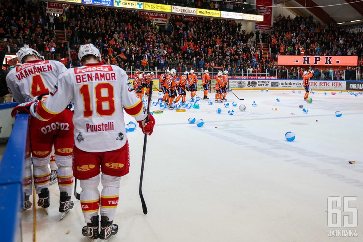 Jokereiden Liiga-taival päättyi Hämeenlinnaan.