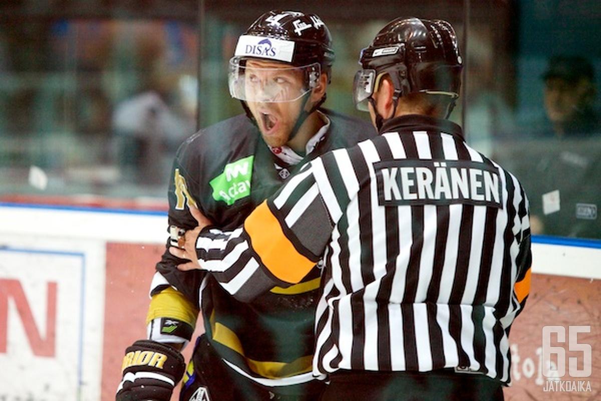 Juho Keränen pääsi iskemään ottelun loppulukemat 6-2.