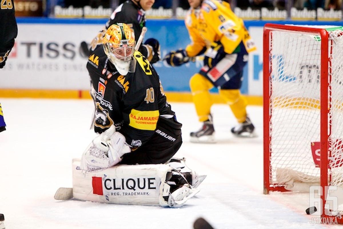 Tänään nähtiin Jussi Rynnäksen kauden heikoin peli.