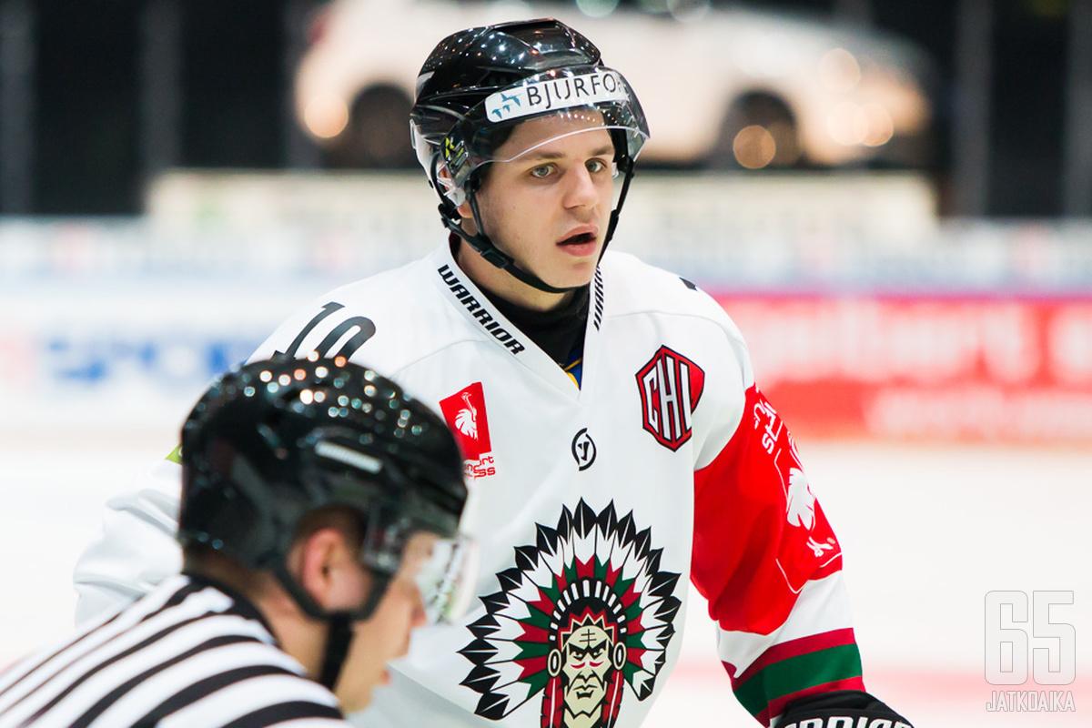 Mattias Janmark teki viime kaudella runkosarjassa 36 tehopistettä.