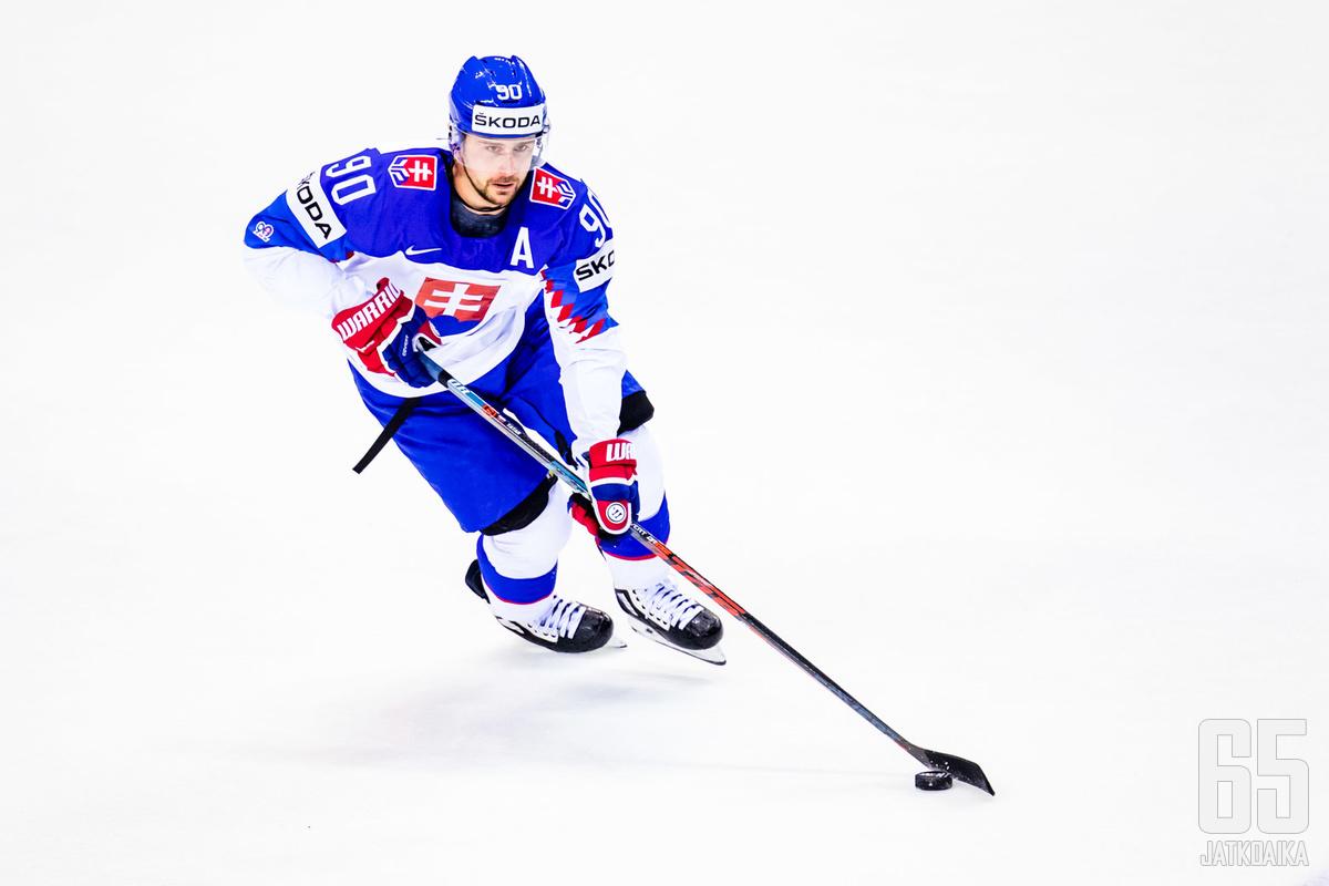 Tatar on ollut Slovakian parhaimpia pelaajia viimeisten vuosien ajan.