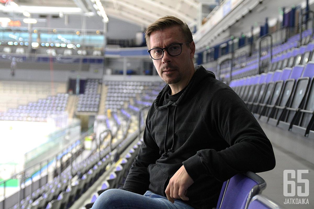 Kalle Sahlstedt aloittaa kolmannen kautensa Lukon urheilujohtajana.