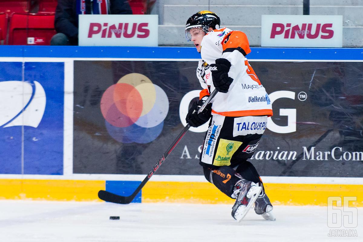 Heikkinen kiekkoili neljä viime kautta KooKoossa.