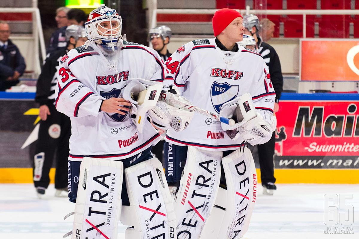 Kevin Lankinen ja Ville Husso hakevat vakituista pelipaikkaa NHL:stä.