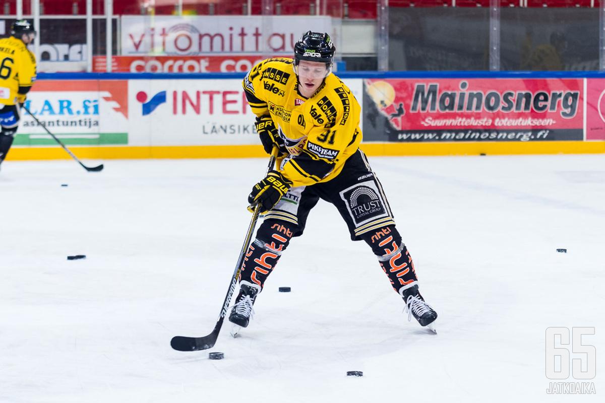 KalPan Janne Keränen on hyvässä vireessä.