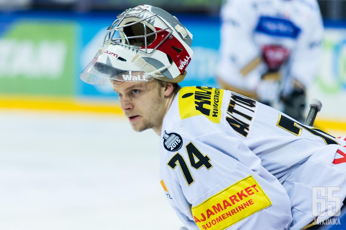 Sami Aittokallion tuijotus kertoi itseluottamuksen olevan kohdillaan.