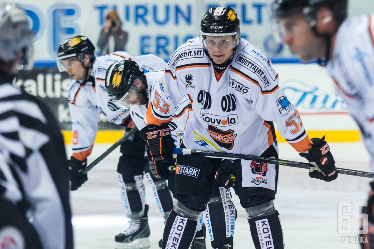Koponen on pelannut Liigaa aiemmin muun muassa KooKoossa.