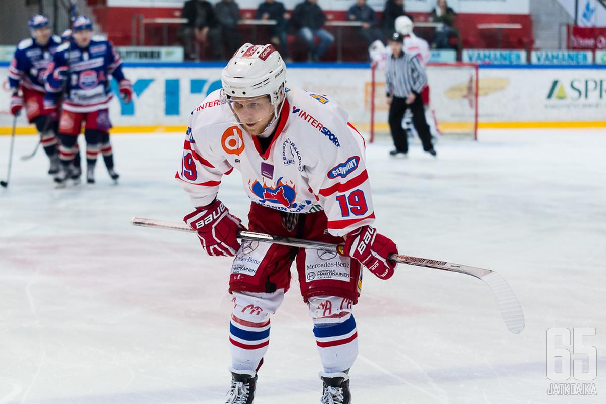 Michal Kristof ja Hokki eivät ole onnistuneet hakemaan voittoa Turusta tällä kaudella.