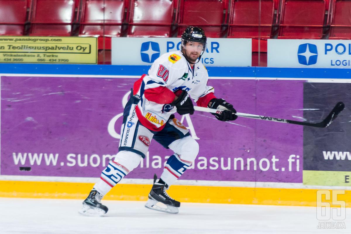 Juntheikki pelasi tehokkaan kauden Hermeksessä.