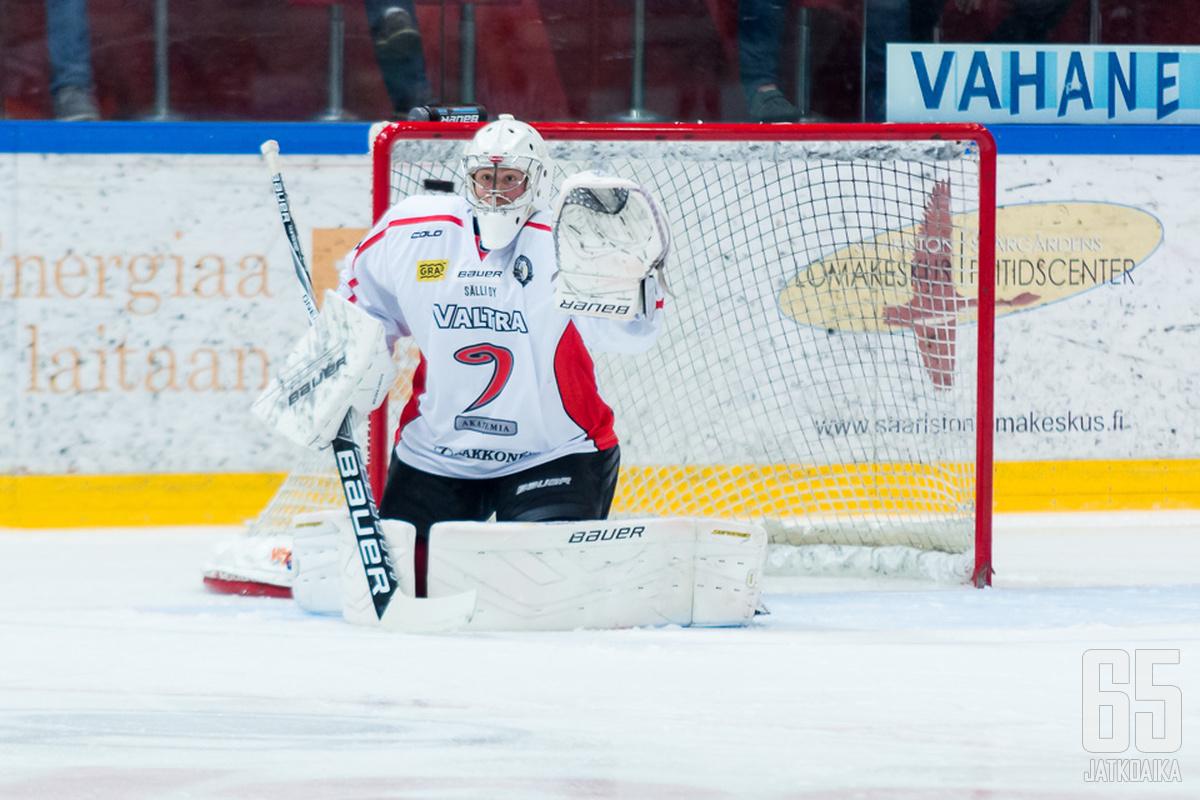 Markus Ruusu on pelannut alkukauden JYP-Akatemian joukkueessa.