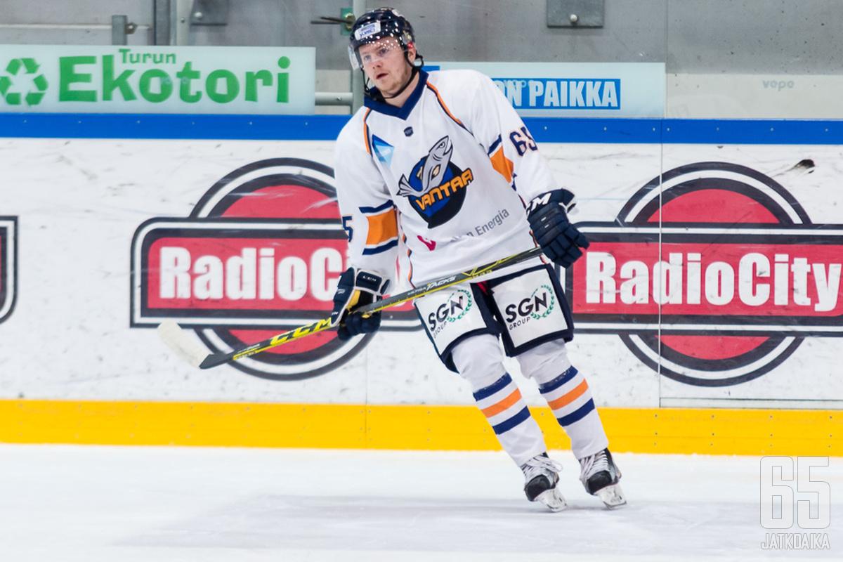 Friman pelasi tehokkaan kauden Vantaalla.
