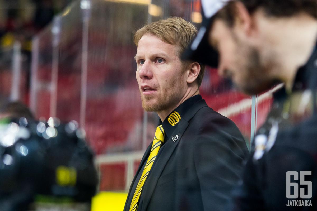 Tommi Miettinen valmensi kolme viimeisintä kautta KalPan A-junioreita.